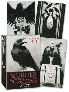 Murder of Crows Tarot Cards by Corrado Roi - Lo Scarabeo 9788865276648