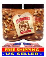 Member's Mark Natural No Stir Creamy Peanut Butter Spread (40 oz. X 2 ct.)