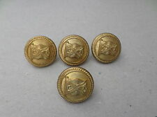 Lot of 4 x Canadian - Australasian shipping line buttons by Firmin