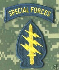 5TH SF GROUP SPECIAL FORCES DRESS iron-on SFG INSIGNIA WITH Special Forces TAB