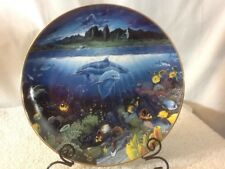 Nice 1991 A Discovery Off Anahola Underwater Paradise Collectors Plate #T6065