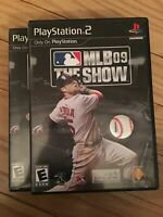 MLB THE SHOW 09 - PS2 - COMPLETE WITH MANUAL - FREE S/H - (UU)