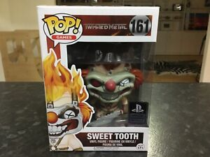 FUNKO POP! GAMES PLAYSTATION - TWISTED METAL #161 SWEET TOOTH - MINT VAULTED