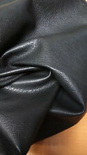 GRAINY  BLACK XL SHEEP SKIN HIDE SKIN LEATHER SE18-2