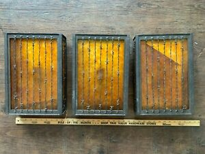 Brass glass wall light fixtures sconces lighting rustic western 3 available