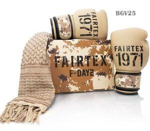 Fairtex Boxing Gloves New F-DAY 2 BGV25 Limited Edition Sparring MuayThai MMA K1