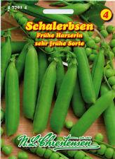 Schalerbse,Frühe Harzerin,früh,Saatgut,Pisum sativum,Gemüse,Chrestensen,NLC 4b