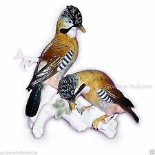 Ens Porzellan-Antiquitäten & -Kunst mit Vogel-Motiv