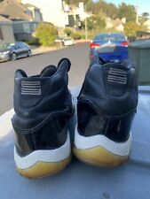 2000 Air Jordan 11 XI Black Varsity/Royal White  Space Jam sz 9.5 (BEATERS)