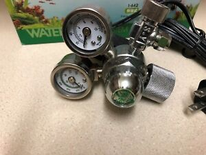 WaterPlant CO2 Controller Twin-Gauge I-580 New