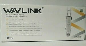 Wavlin 300Mbps High Power Outdoor Wi-Fi Range Extender Brand New  Factory Sealed