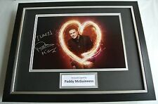 Paddy McGuinness SIGNED FRAMED Photo Autograph 16x12 display Take Me Out TV COA