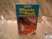 Winnie the Pooh And the Blustery Day VHS Animated