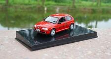 1:43 Volkswagen VW GOL Red Diecast Metal Model