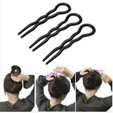 El Cabello giro para Mujeres Chicas Estilo Cabello armado de trenza rodete varilla clip accesorio