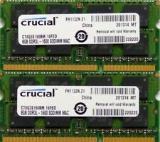 Memoria (RAM) de ordenador Crucial SO DIMM 204-pin PC3-12800 (DDR3-1600)