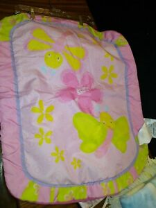 """Bright Starts Baby Play Nap changing Pad  pink butterfly VGC 22"""" x 27"""""""