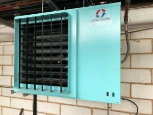 Powrmatic Heater NVx40/f/1 (gas)