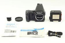 【MINT w/ Strap】 Mamiya 645 Pro Body + AE Finder Winder Grip 120 Film Back JAPAN