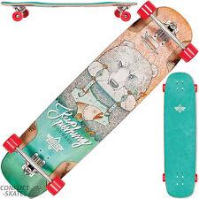 """DUSTERS """"Urso"""" Complete Longboard Skateboard 37"""" Freeride Downhill Kryptonics"""