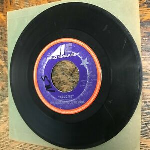 """THE BASKERVILLE HOUNDS Hold Me 7"""" singe 45 RPM AVCO 1969 VG- RECORD Vinyl USED"""