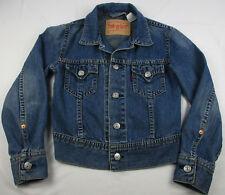 Levi's Women's Ladies Jean Jacket Size M Trucker Blue Denim