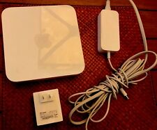 Apple A1408 AirPort Express Base 4-Port Router-5th Generation+TP-Link AV500 Adpt