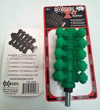 "BowJax X-it Stabilizer 4 3/8"", Forest Green NEW IN PACKAGE"
