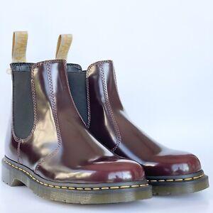 Dr. Martens Vegan 2976 Chelsea Boots Bouncing Soles Mens Sz 8 ( Womens 9 )