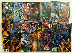 HEROES REBORN THE FANTASTIC FOUR 1996 #1-13 COMPLETE SET LOT FULL RUN JIM LEE