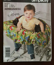 S-2109 Baby Shopping Cart Seat Cover Sewing Pattern Simplicity Cut & Complete