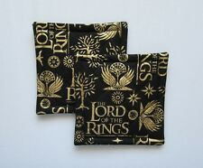 Lord of the Rings  Quilted Coaster, Trivet,Pot Holders,Hot Pad - Set of 2