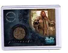 BUFFY TVS - SEA 7 - ABRAHAM BENRUBI as OLAF THE TROLL PIECEWORK CARD - NrMt