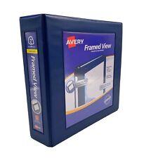 "AVERY Framed View Presentation binder 2"""