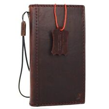 Genuine Real leather Case for apple iPhone 5 5S 5C Book wallet cover slim holder