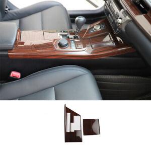 For Lexus ES300H 350 2013-2014 Wood grain central console Gear shift frame trim