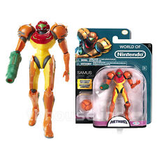 "4.5"" SAMUS ARAN figure METROID series WORLD OF NINTENDO 1-2 pacific JAKKS 2016"