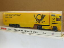 Wiking PMS 81-04/99 Mercedes Actros Koffersattelzug Post Museumsshop OVP (U4366)