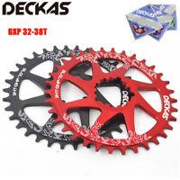 DECKAS MTB Bike Chainring 32-38T Narrow Wide Round/Oval  SRAM GXP Chainwheel