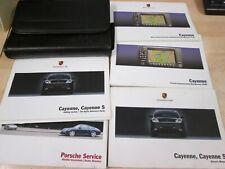 Porsche Cayenne and s models  owners  Drivers Handbook/Manual (2003-2006) + NAV