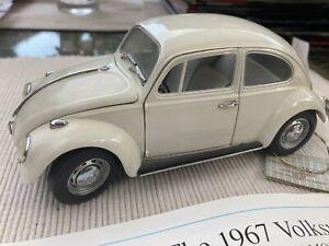 Franklin Mint 1967 Volkswagen Beetle Die cast Model