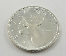 PQ-1 CANADA 1957 25 CENTS QUEEN ELIZABETH.CHOICE UNCIRCULATED SEE PICTURES
