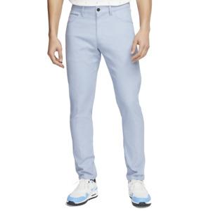 Nike Mens Slim/Dri Fit 6 Pocket Silver Golf Pants - New - BV0278-042 - $85