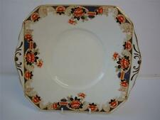 Vintage Estándar China Imari Color Crisantemo Art Deco Placa De La Torta