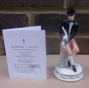 MICHAEL SUTTY Royal Navy Period Figurine - Midshipman Undress Uniform