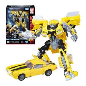 Hasbro Transformers Studio Series 01 Deluxe Class Bumblebee Action Figure Toy