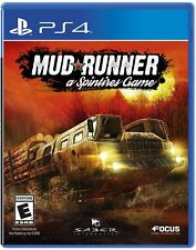 SPINTIRES MUDRUNNER    (PS4, 2017)  (3929)    *****FREE SHIPPING USA*****