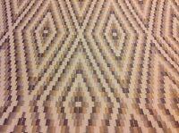 Robert Allen Geometric Upholstery Fabric- Diamond Braid/Twine- 5.75 yds