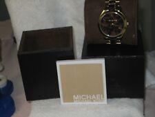Michael Kors Slim Runway Tortoise-shell Dial Ladies Watch MK4284