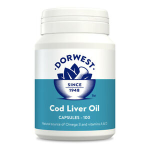 DORWEST COD LIVER OIL  for (Circulation, Bones, Heart & Joints) for Dogs & Cats